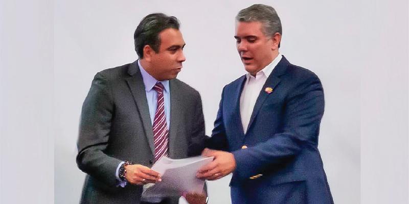 Se llevó encuentro entre Alfonso Eljach y el Presidente Duque
