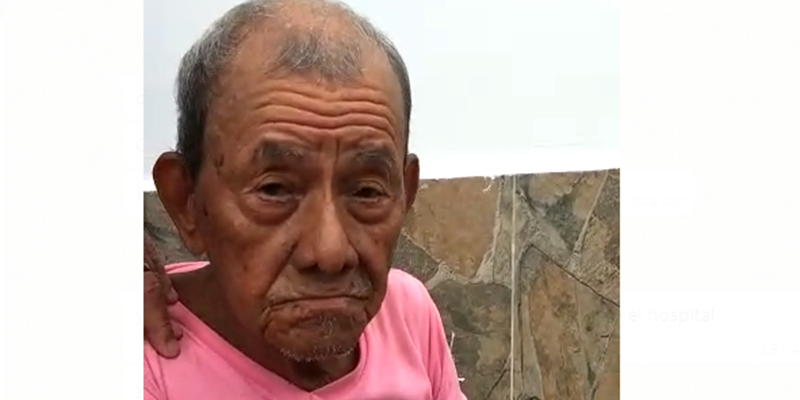 Denuncian que anciano intentó raptar niña de dos años
