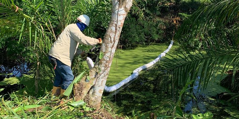 Ecopetrol denuncia contaminación por válvula ilícita en predio de Barrancabermeja