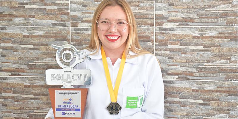 Estudiante UIS Barrancabermeja gana premio internacional de investigación