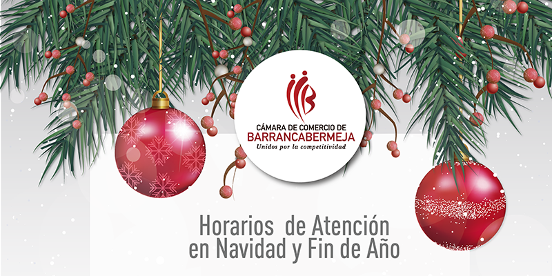 Horarios especiales de atención en Navidad y Fin de Año