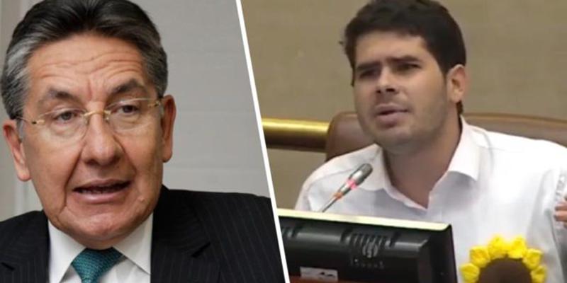 Congresista Fabian Diaz denunció al Exfiscal Néstor Humberto Martínez por chuzadas ilegales