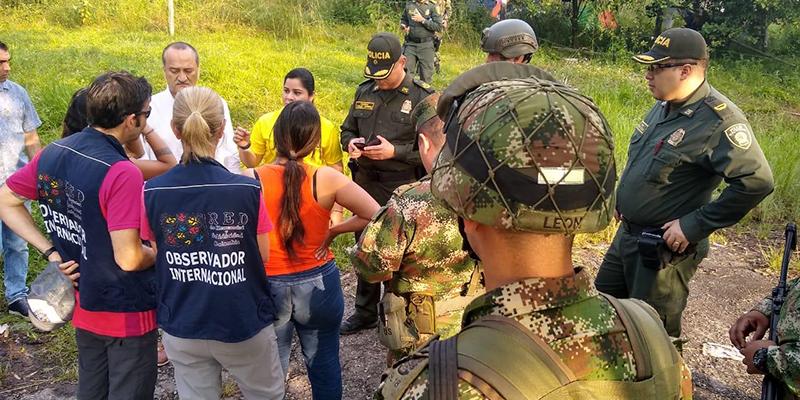 Marcha de campesinos se toma sector de Lizama en Barrancabermeja