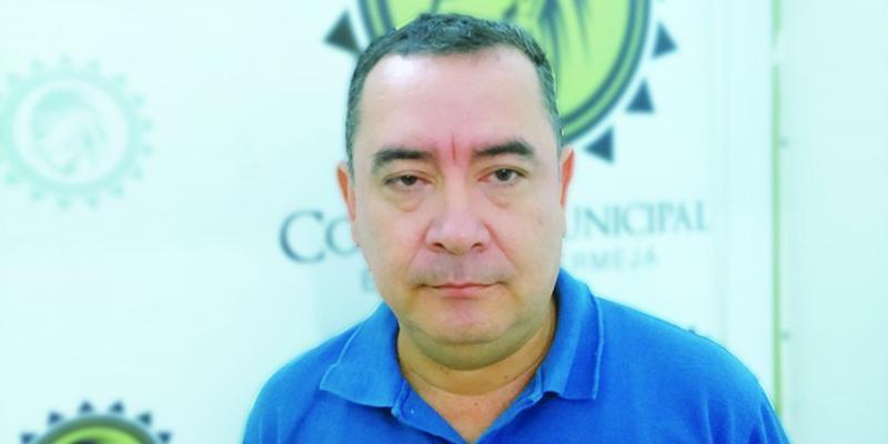 Concejal Luis Fernando Calderón presentó renuncia de su cargo