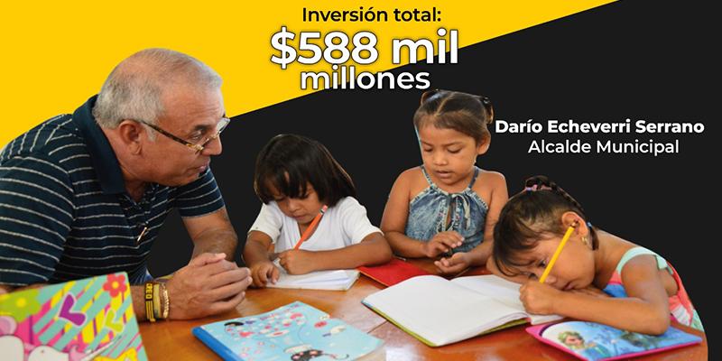 """¿Por qué el gobierno de Darío Echeverri ganó el """"Premio Mejor Gestión Educativa""""?"""