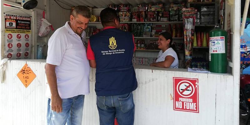 Autoridades continúan controles sobre distribución, venta y uso de pólvora