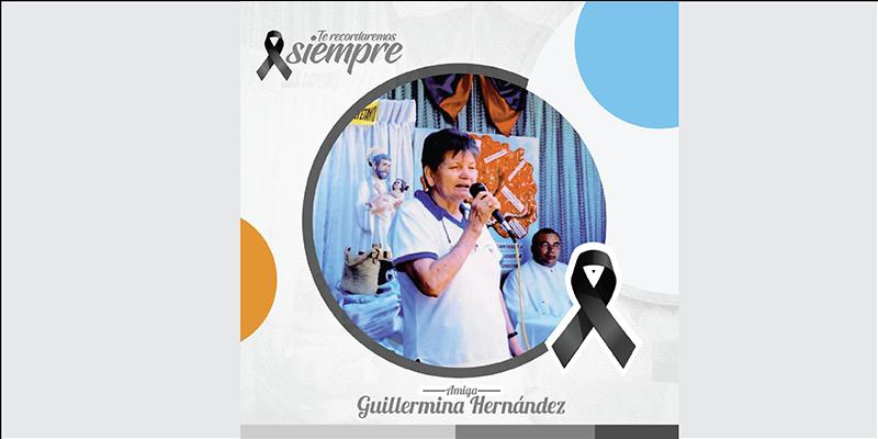 Murió Guillermina Hernández, la fundadora de Merquemos Juntos