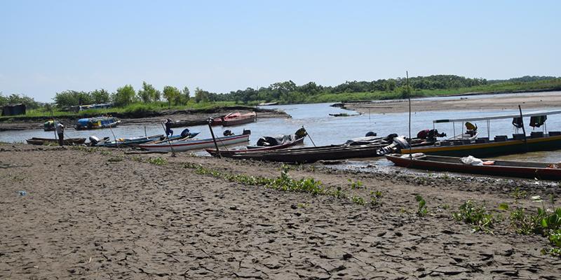 Alcaldía monitorea bajos niveles del río Magdalena