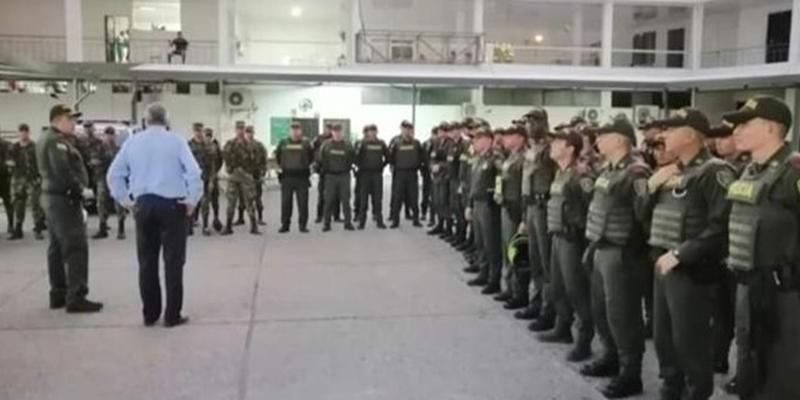 """""""La delincuencia no nos ganará terreno"""":  Alfonso Eljach, alcalde"""