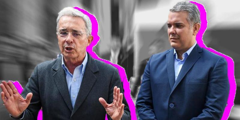Uribe y Duque 69% y 70% de imagen negativa