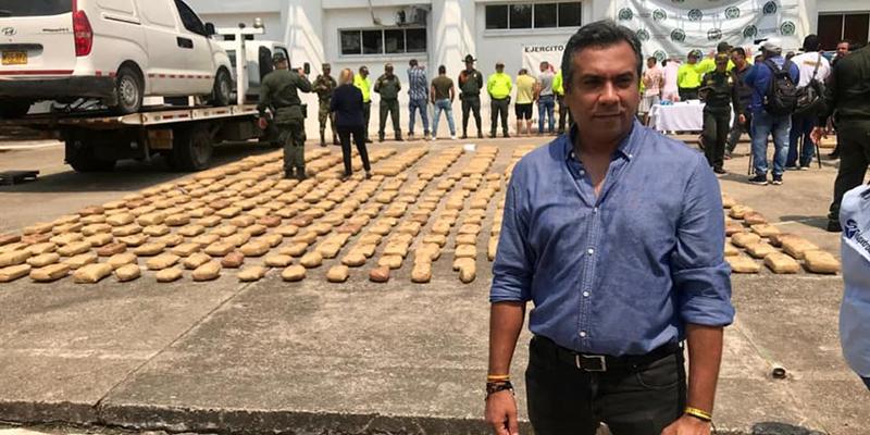 Policía de Barrancabermeja incauta 1 tonelada de marihuana