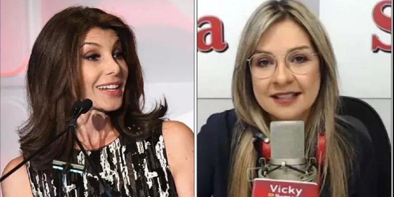 """""""Has perdido la brújula y contribuido al desprestigio"""": Patricia Janiot, a Vicky Dávila"""