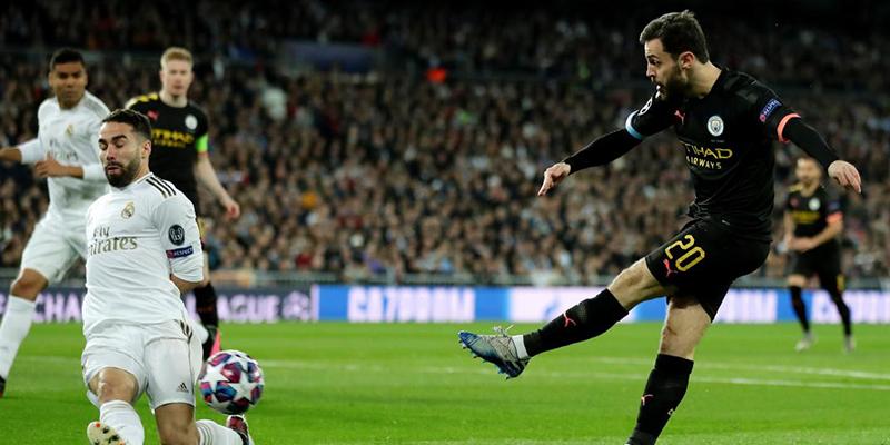 Sin James, Real Madrid perdió ante el Manchester City en la ida de octavos de la Champions