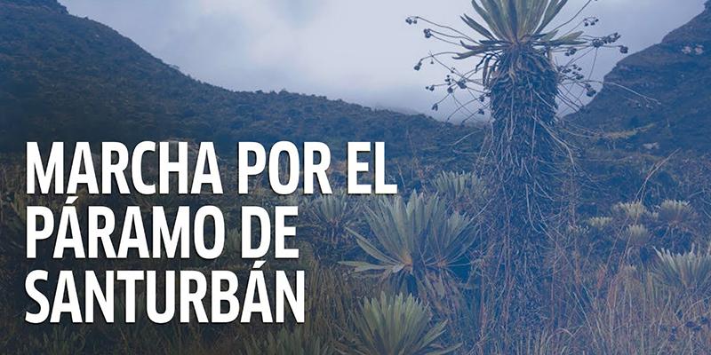 Diputados de Santander respaldan movilización por Santurbán