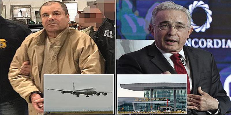 """Vínculo de Álvaro Uribe con el """"Chapo"""" Guzmán: ¿A quién creerle?"""