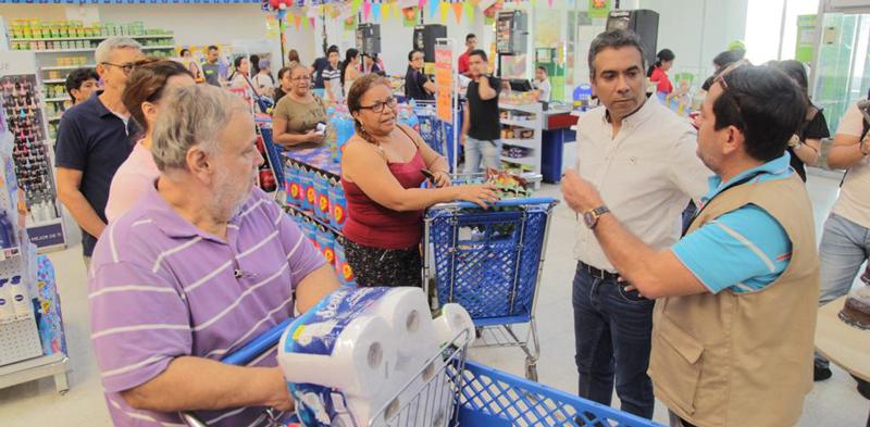 """""""Recorremos la ciudad para ejercer control y dar tranquilidad a los ciudadanos"""", dijo Alfonso Eljach"""
