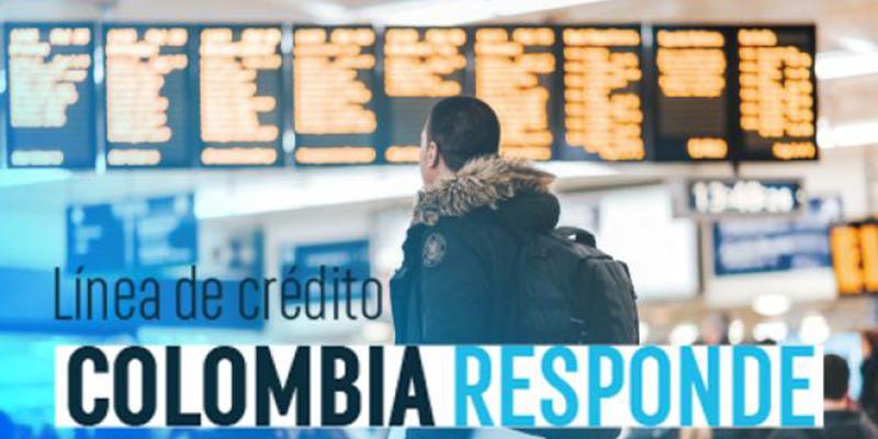 """Línea de crédito """"Colombia Responde"""" para sectores de turismo y aviación"""
