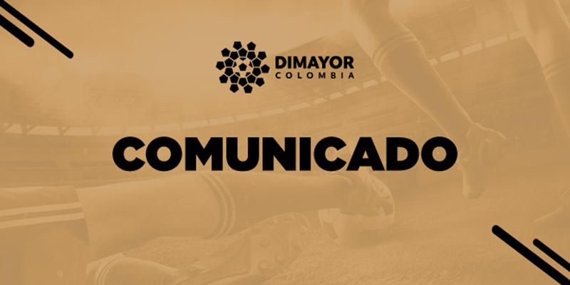 """Dimayor suspende campeonato por causa del """"coronavirus"""""""