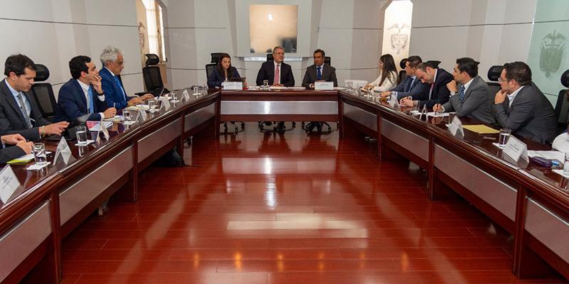 Declaraciones del alcalde Alfonso Eljach luego de reunión con el presidente Iván Duque