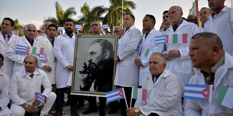 Estados Unidos se opone a que Cuba ayude a países víctimas del Covid_19