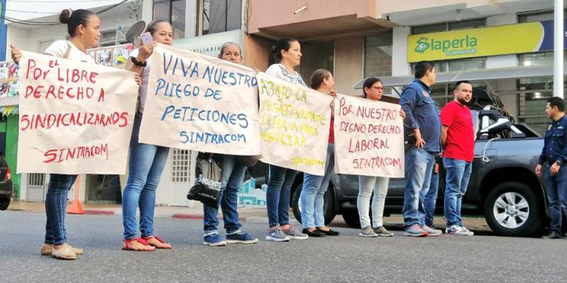 Las humildes mujeres que reclaman sus derechos a Chance La Perla