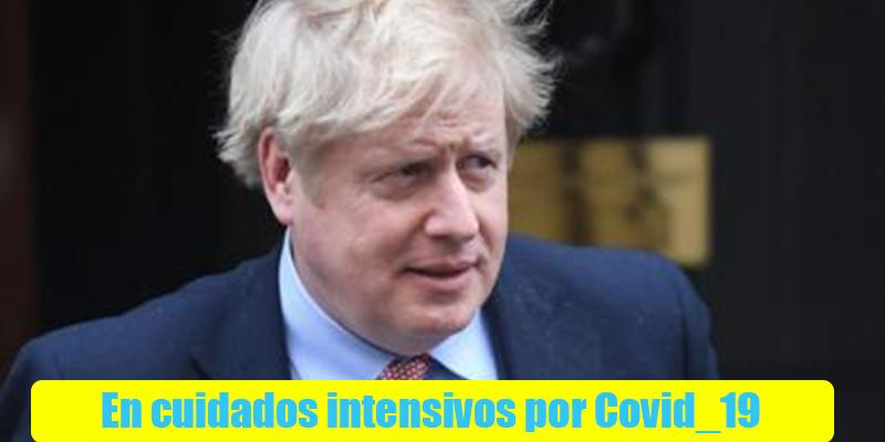 Boris con Covid