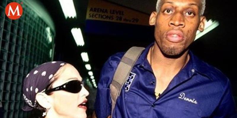 """Dennis Rodman: """"Madonna me ofreció 20 millones de dólares por embarazarla"""""""