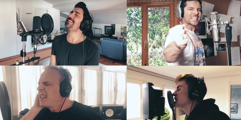 Músicos españoles se unen para crear una nueva versión de 'Resistiré' en confinamiento