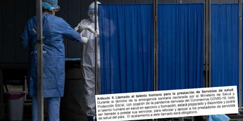 Gobierno cede y no obligará a personal de la salud a estar disponible en pandemia