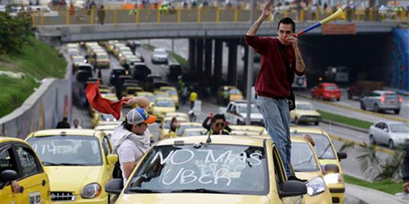 Por regreso de Uber, taxistas irían a paro