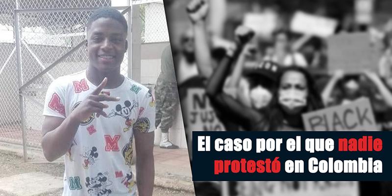 Indignación por asesinato de joven afro a manos de la policía