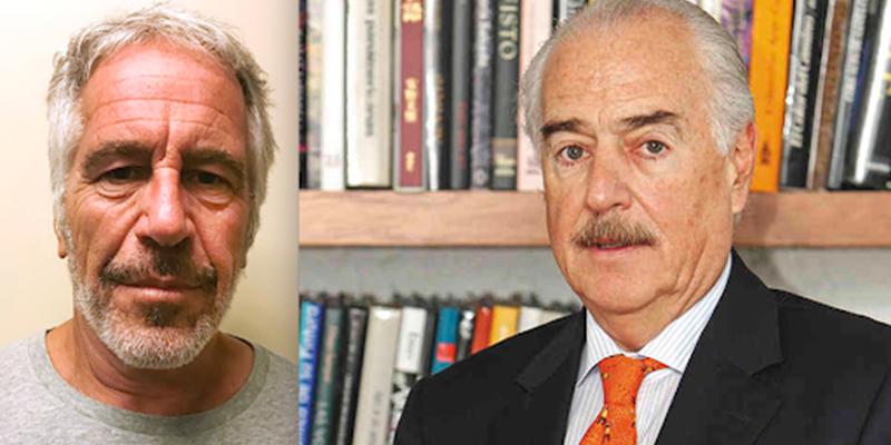 Andrés Pastrana aparece en la lista de invitados del pedófilo Jeffrey Epstein