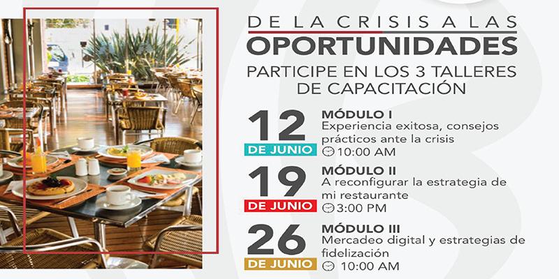 Cámara de Comercio presenta ciclo de capacitación a restauranteros