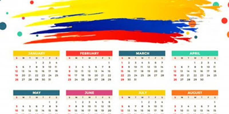 Estos son los 18 días feriados oficiales en Colombia en 2020
