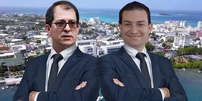 ¿El Fiscal y el Contralor se fueron de puente a San Andrés?