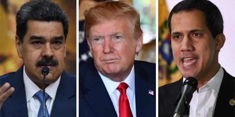 ¿Trump se le 'voltea' a Guaidó?