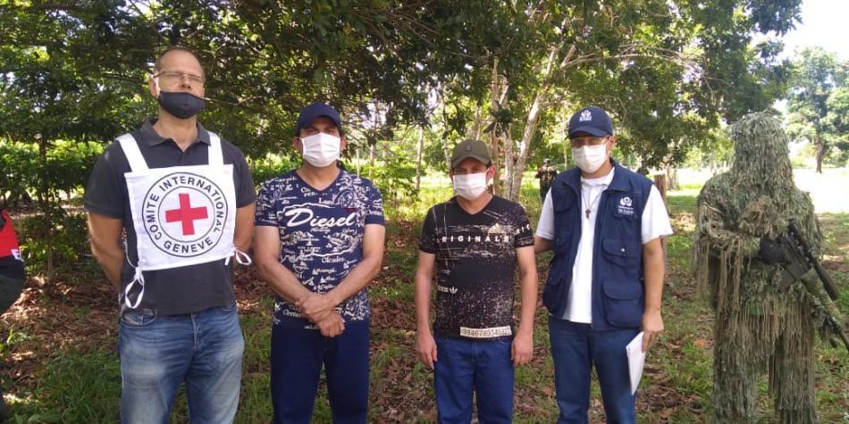 Liberados 2 técnicos petroleros que estaban secuestrados por el ELN