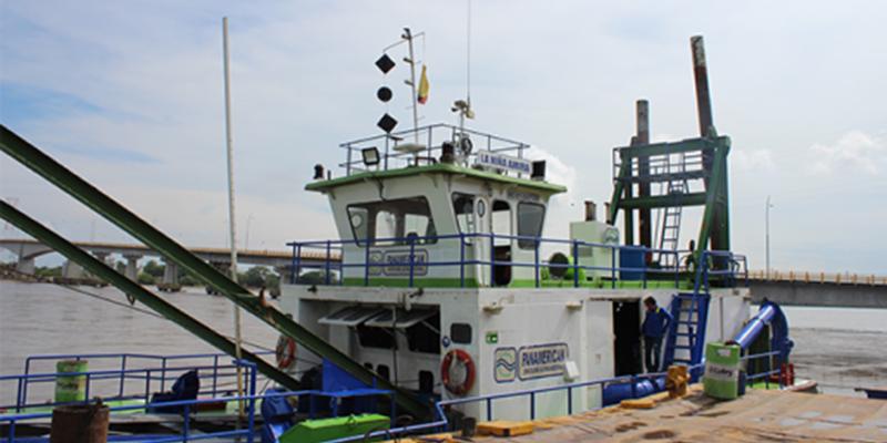 Gobierno garantiza navegabilidad del rio entre B/bermeja y Pinillos (Bolívar)