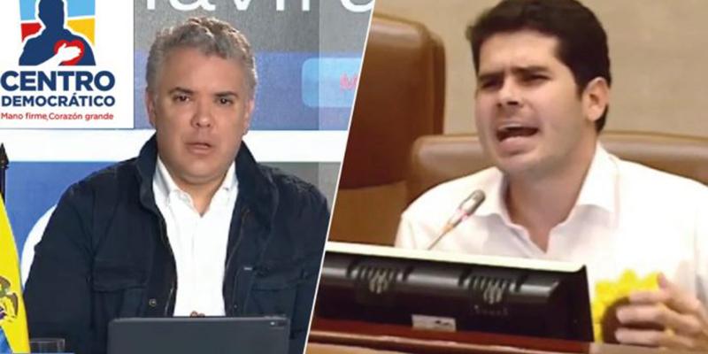 Centro Democrático podría perder personería jurídica tras denuncia de Fabián Díaz ante el CNE