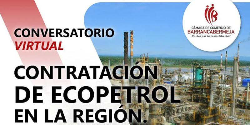 Conversatorio: Contratación de Ecopetrol en la región, ¿Compromiso, voluntad o fe en lo nuestro?