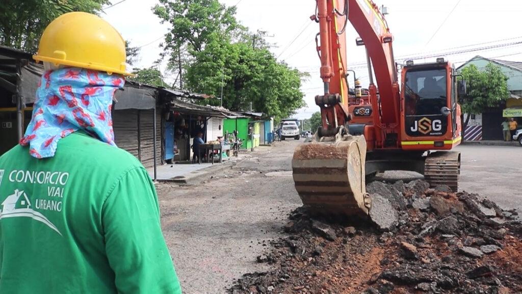 Alcaldía inicia proyecto de doble carril en la vía Metrópolis – Postobón