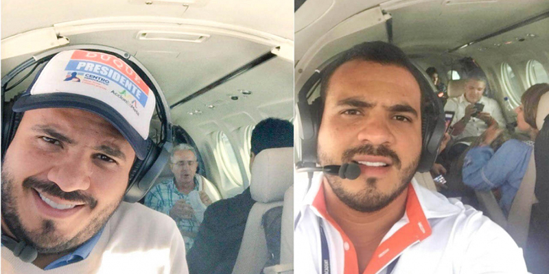 Señalan a piloto de campaña Duque de desaparecer en Guatemala transportando cocaína del cartel de Sinaloa