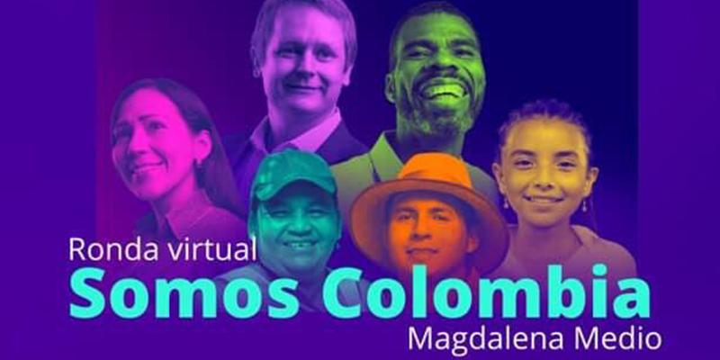 """13 de agosto: Ronda Virtual """"Somos Colombia, Magdalena Medio"""""""