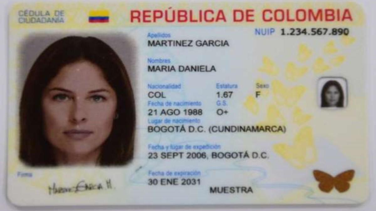 Así es la nueva cédula digital de Colombia