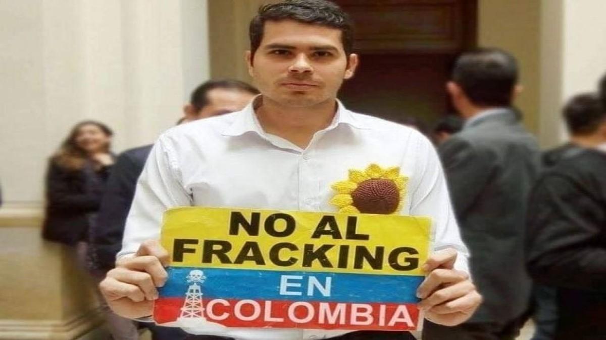 Fabián Díaz se opone  a pilotos de Fracking en Colombia