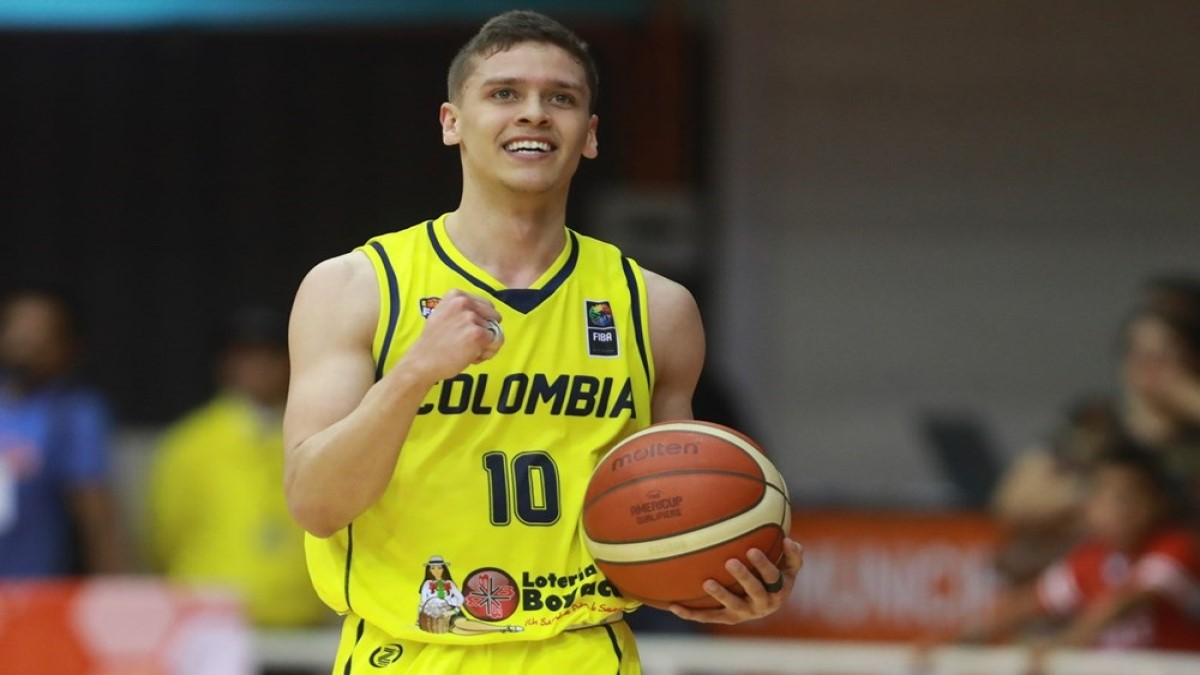 El barranqueño Hansel Atencia rumbo a la Selección Colombia de Baloncesto