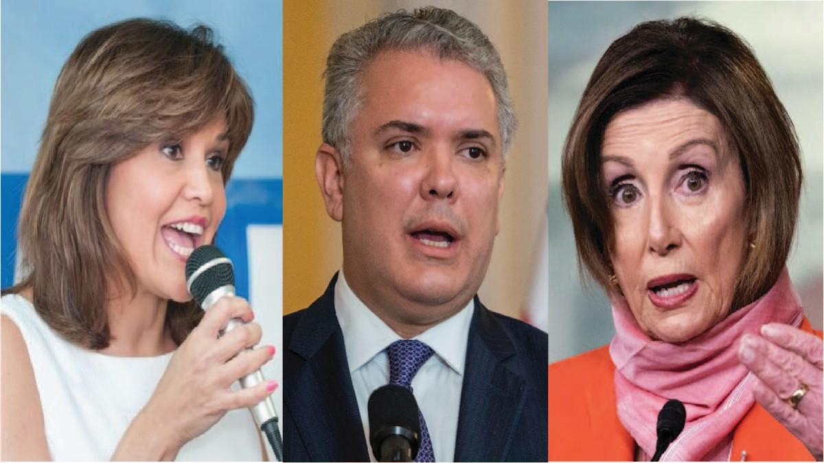 """Nancy Pelosi está herida con el gobierno colombiano"": Annette Taddeo"