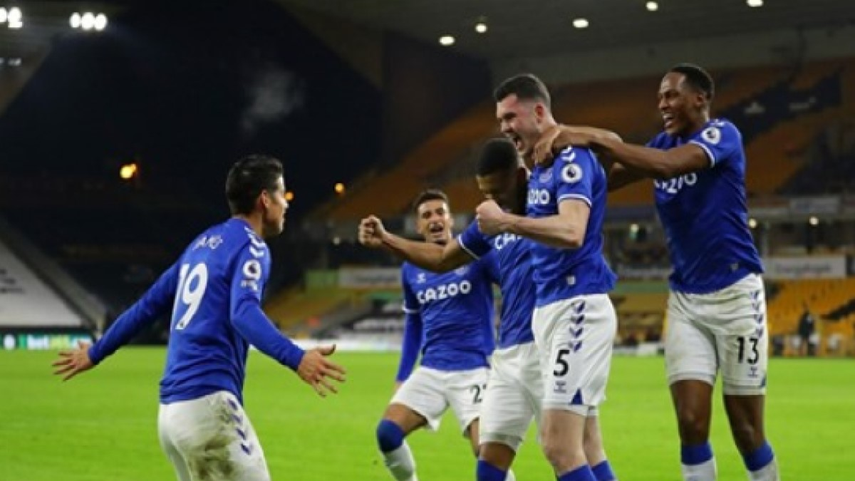 Everton - Equipo de James y Mina volvió a ganar en la Premier League