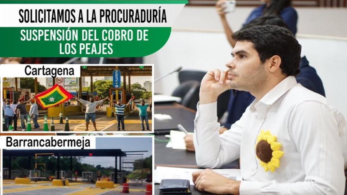 Fabián Díaz propone en el Congreso que distancia mínima entre peajes sea de 150 kilómetros