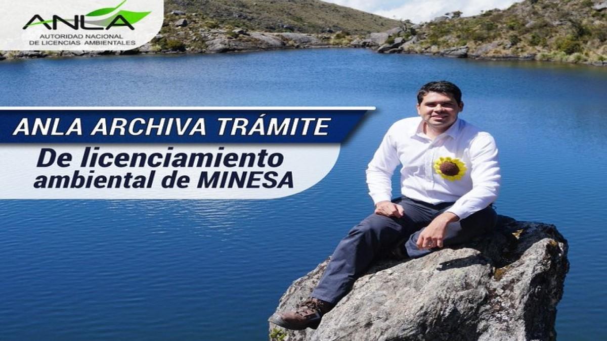 ANLA archivó definitivamente licenciamiento ambiental en el páramo de Santurbán